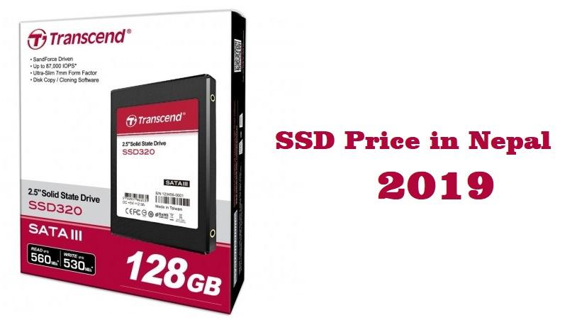 SSD Price in Nepal 2019 Transcend SSD Price in Nepal