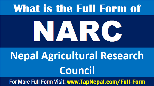 NARC Full Form What is the Full Form of NARC Nepal