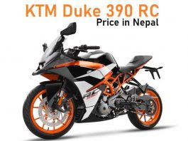 KTM Duke 390 RC Price in Nepal Bike's Key Specification and Features