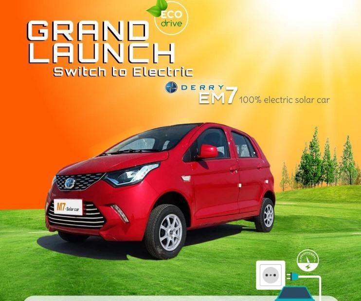 Derry EM7 Solar Electric Car Price in Nepal